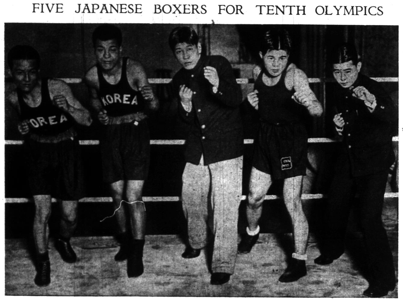 5 Japanese Boxers