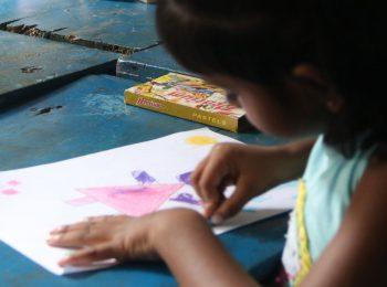 Girls studying in Sri Lanka
