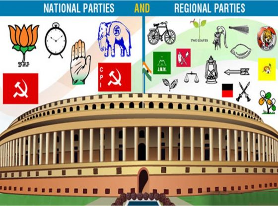 Image result for national parties and state parties india
